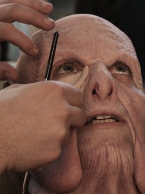 Silicone make-up application