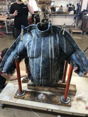 Fat-suit negative mold